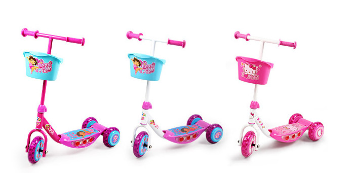 Kids Plastic Scooter with Hot Selling (YVC-008)