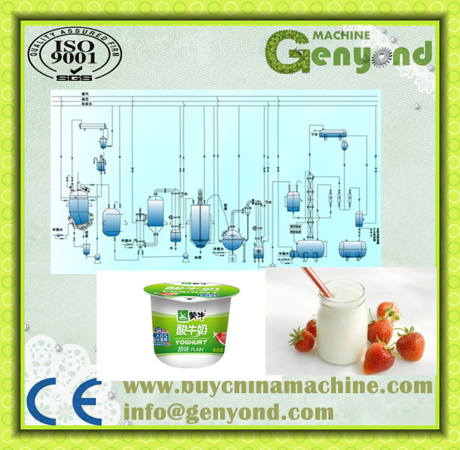 Turnkey Project Yogurt Production Plant