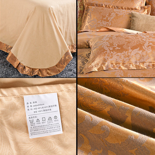 Jacquard Bedsheet Set of Tc Fabric