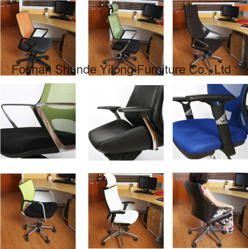 Full Mesh Plastic Conference Chair/School Chair with Writing Tablet