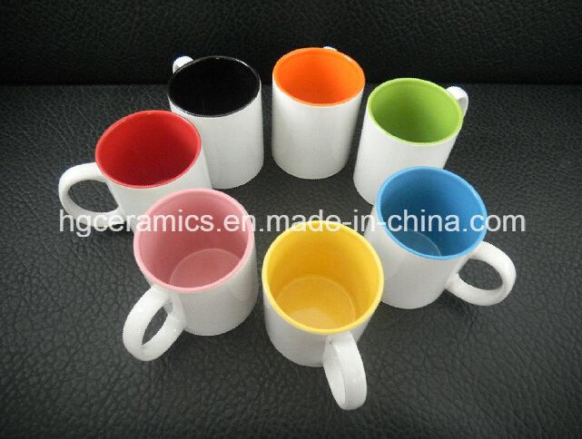 Sublimation Mug, 11oz Two Tone Sublimation Mug