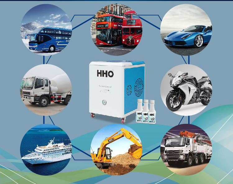 Hho Carbon Cleaner Machine for Car Engines