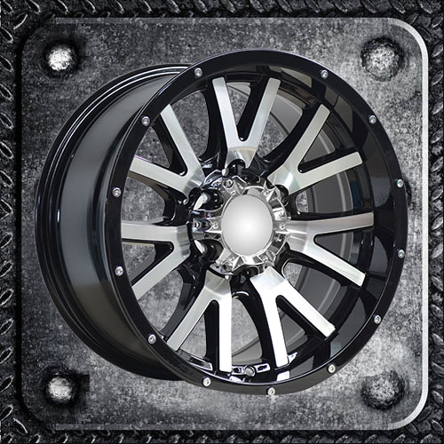 Spokes in V Design Machines Alloy Wheels