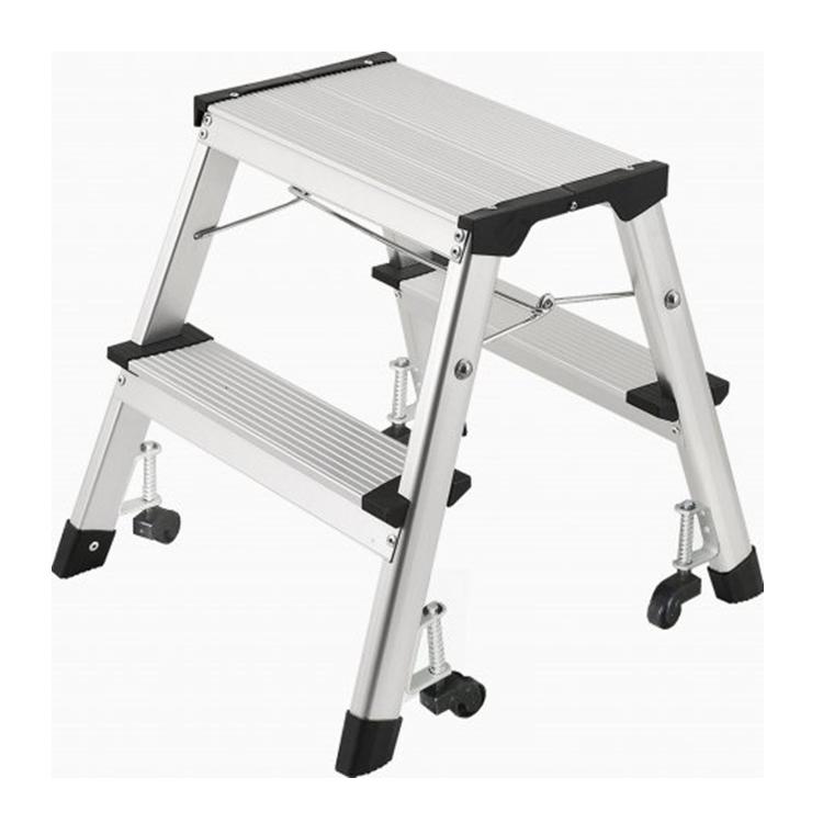 Factory Supplier Step Ladder Aluminum Folding Step Stool Ladders