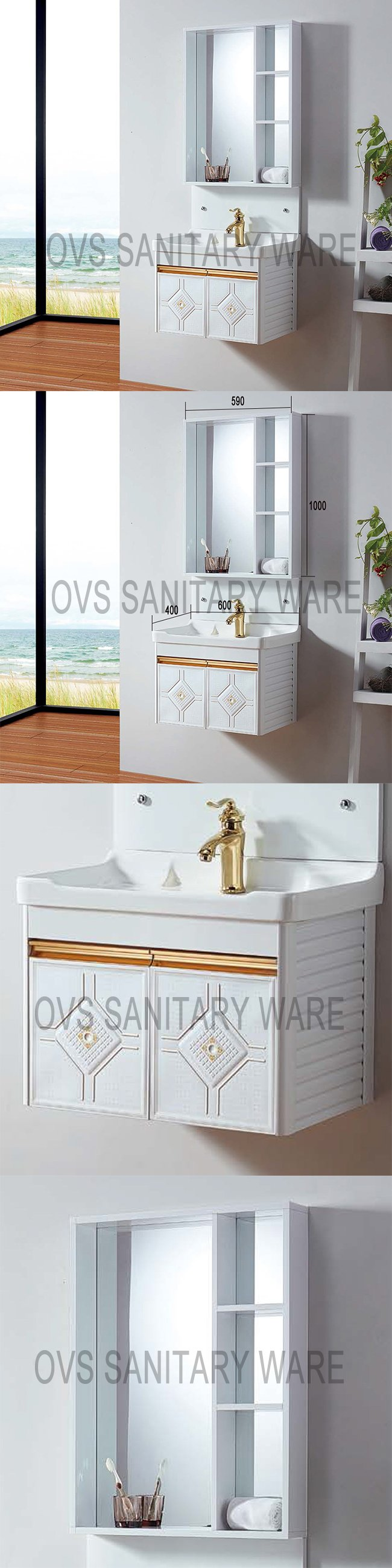 Bathroom Furniture Design Aluminum Bathroom Vanity Cabinets
