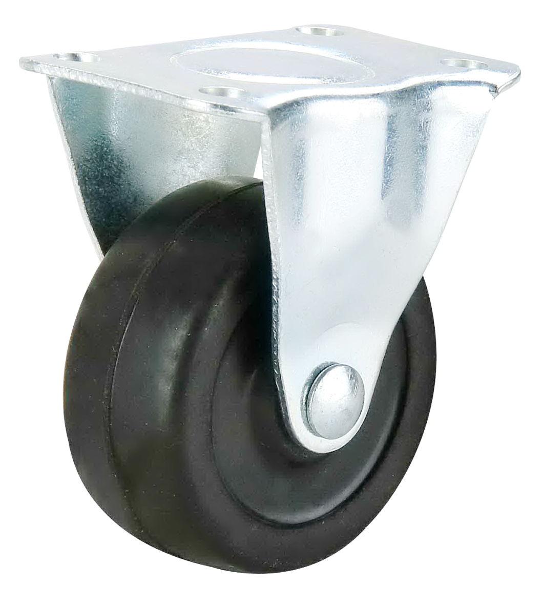 2 1/2 Inch Light Duty Hard Rubber Swivel Castor