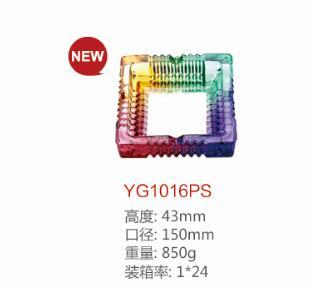Colourfull Glass Ashtray Dg-1372