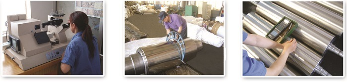 Alloy Rubber Roller for Rubber Machine