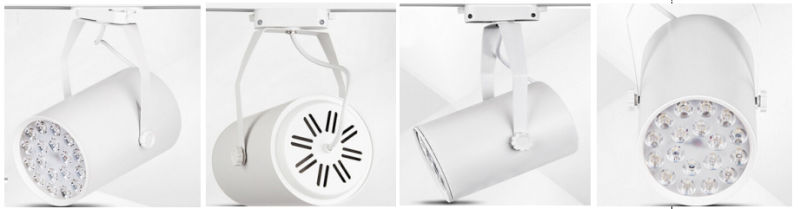New Style White and Black 18W LED Track Light