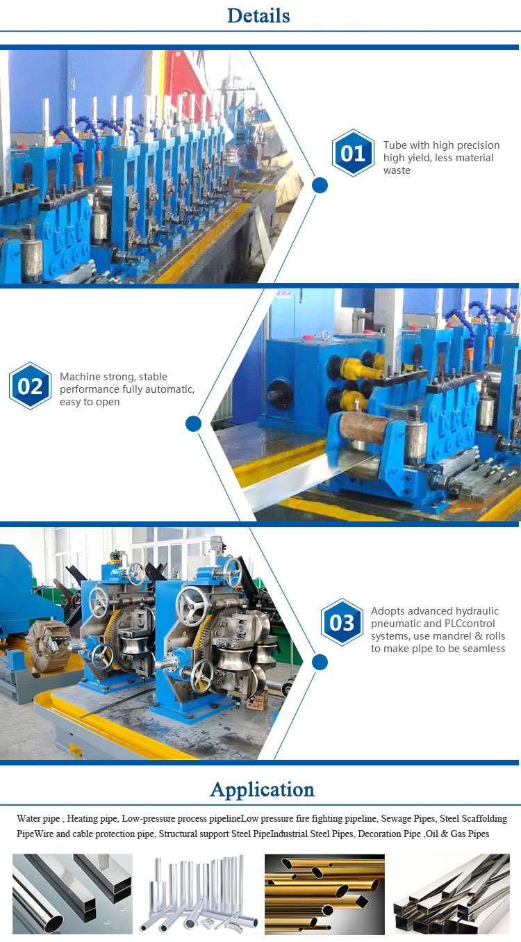 Best Price Automatic High Speed Forming Manufacturer High Frequency Pipe Welding Machine