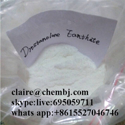 99% Bodybuilding White Steroid Powders Drostanolone Enanthate CAS: 472-61-145