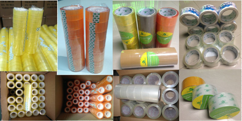 SGS ISO Approved Brown Color Carton Sealing Tape (BOMEI-M16)