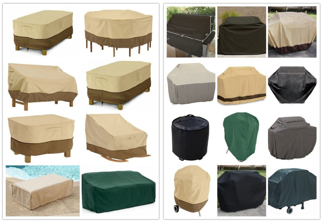 Outdoor Oval Table Cover Furniture Cover