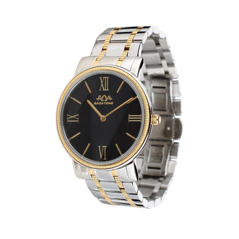 Men Dress Male Stainless Steel Waterproof Sport Wrist Watch