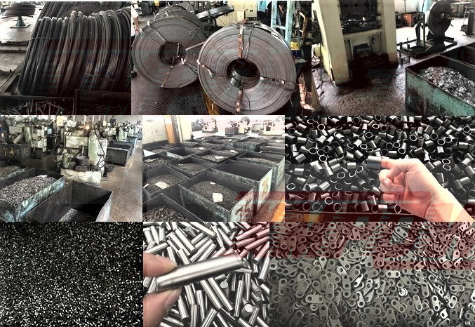 Motorcycle Heavy Duty Type Precision Roller Chains ANSI/ISO Standard