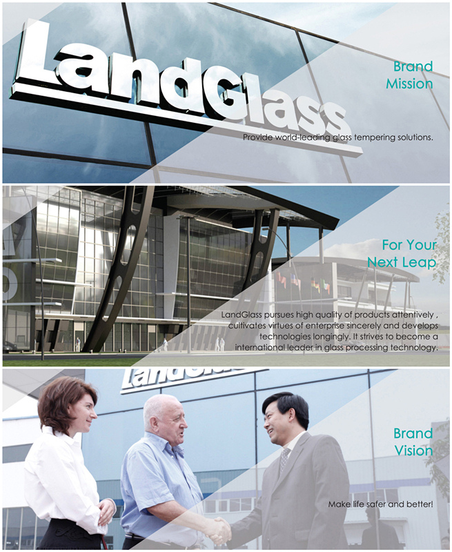Landvac Low Price Security Double Glazing Vacuum Glass for Glass House
