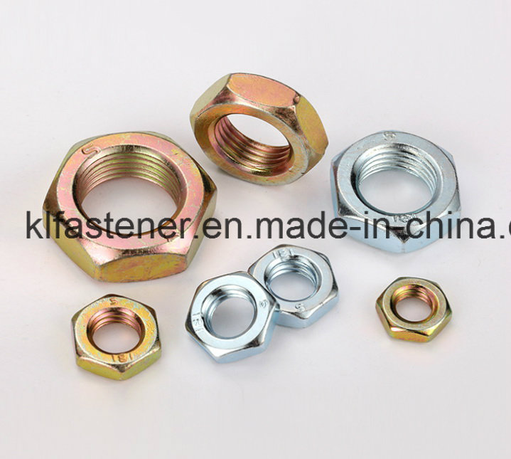 DIN439 Hex Thin Nut Manufacturer with High Quality