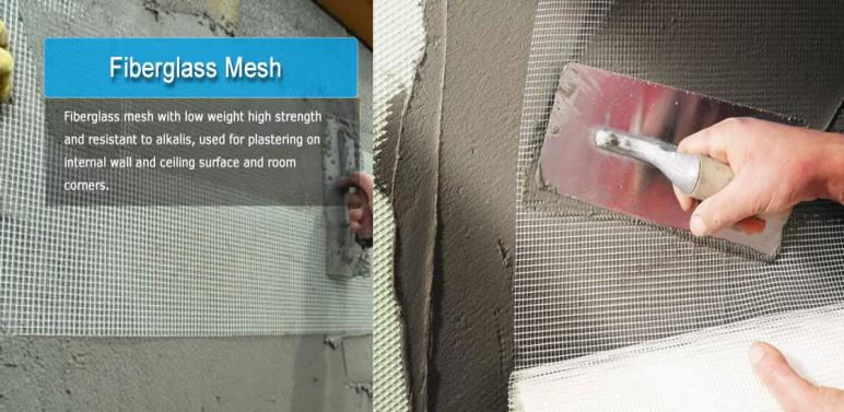 application of fiberglass cloth