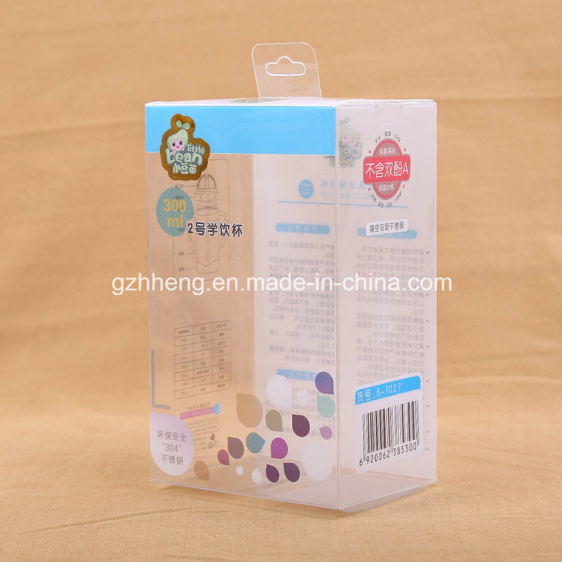 Custom Gift Plastic Printing Box for Baby's Products (PVC box)