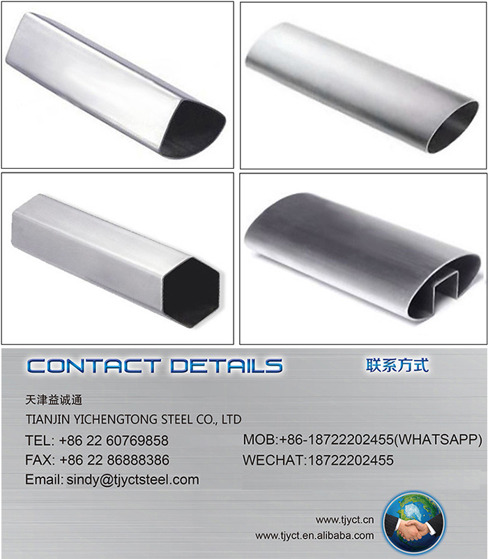 Wholesale Stainless Steel Special Pipe 304
