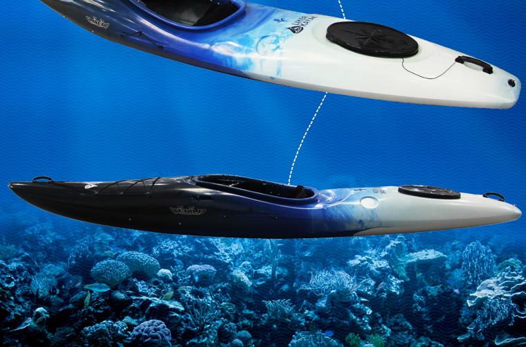 Single Sit Inside Crossover Kayak