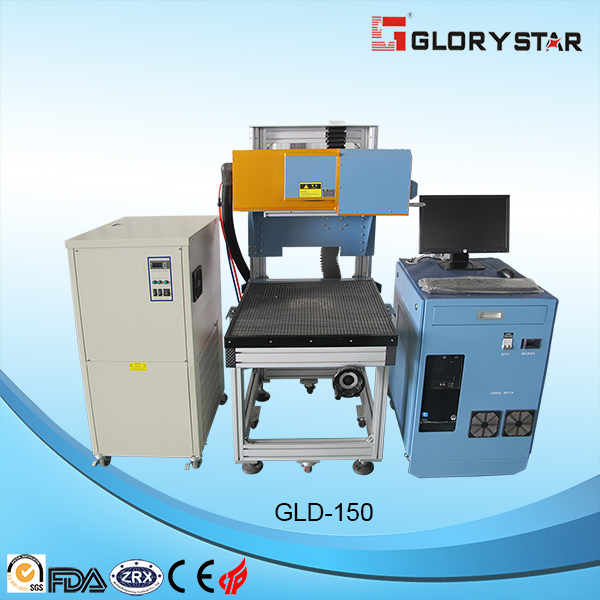 Jeans Laser Marking Machine Rofin CO2 Tube Working Area 800X800mm 275W