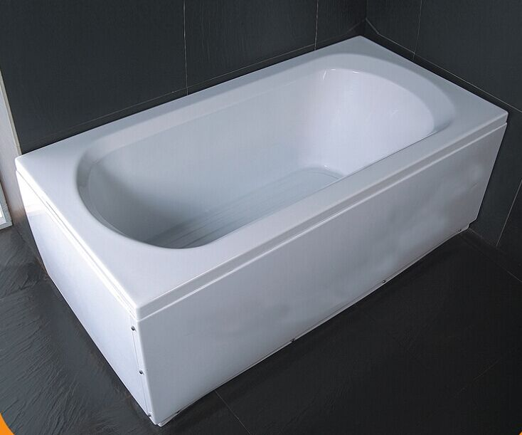 CE ISO 9001 Simple Acrylic Bathtub (CL-712)