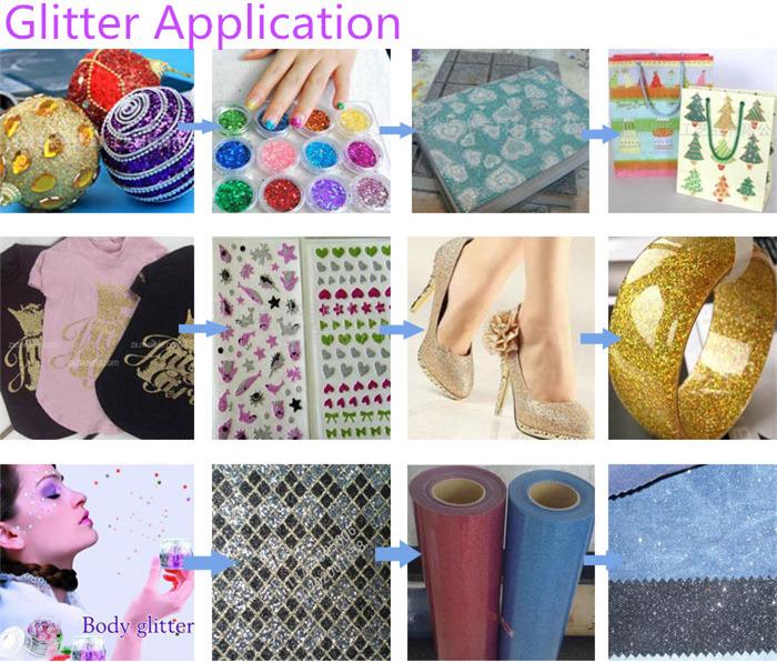 Wholesale Bulk Color Fabric Spray Glitter Powder