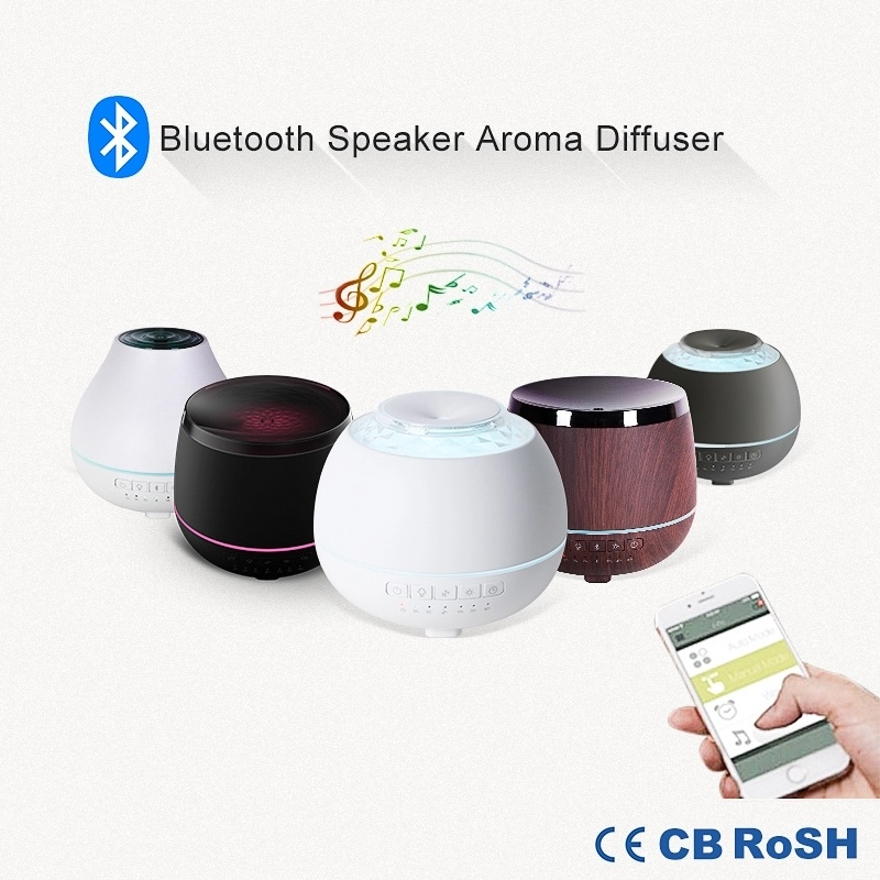Wireless Bluetooth Smart Ultrasonic Aroma Diffuser/Essential Oil Nebulizer / APP