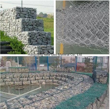 Gabion Box 2mx1mx1m 270g Zinc Hot Dipped Gavalnized Wire