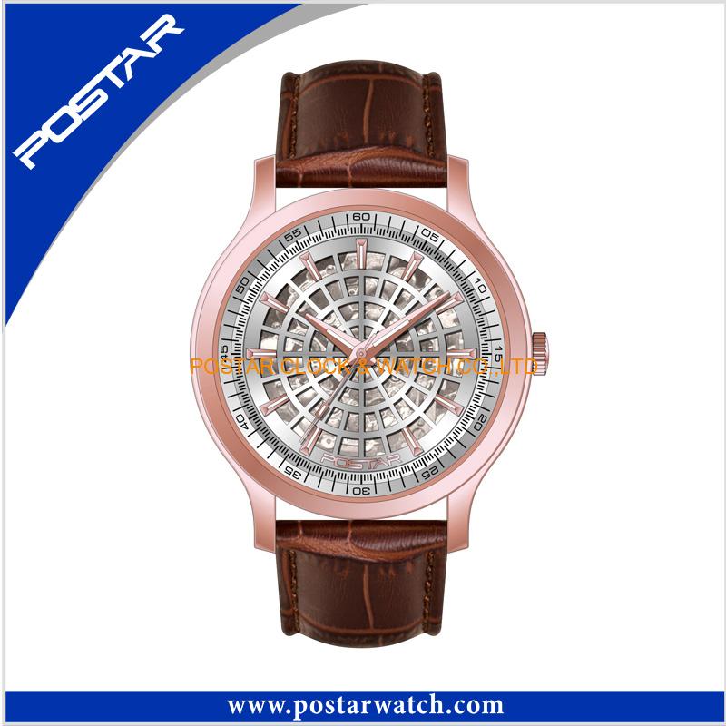High Quality Stainless Steel Wrist Watch Waterproof Quartz Watch
