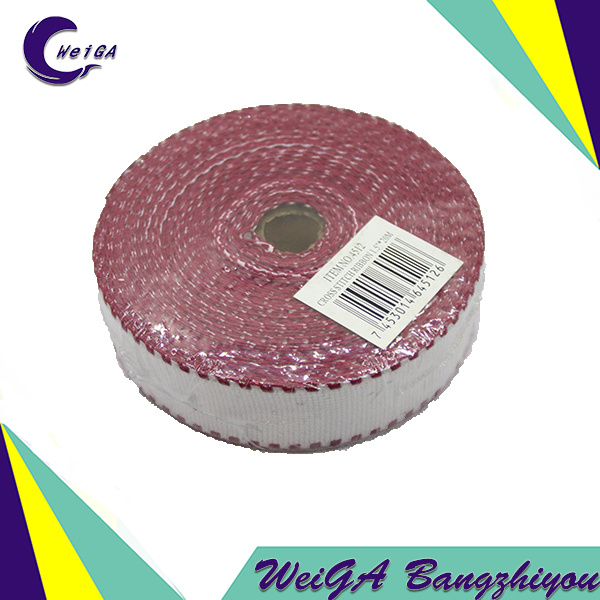 Top Quality Polyester Cotton Color Edge Ribbon