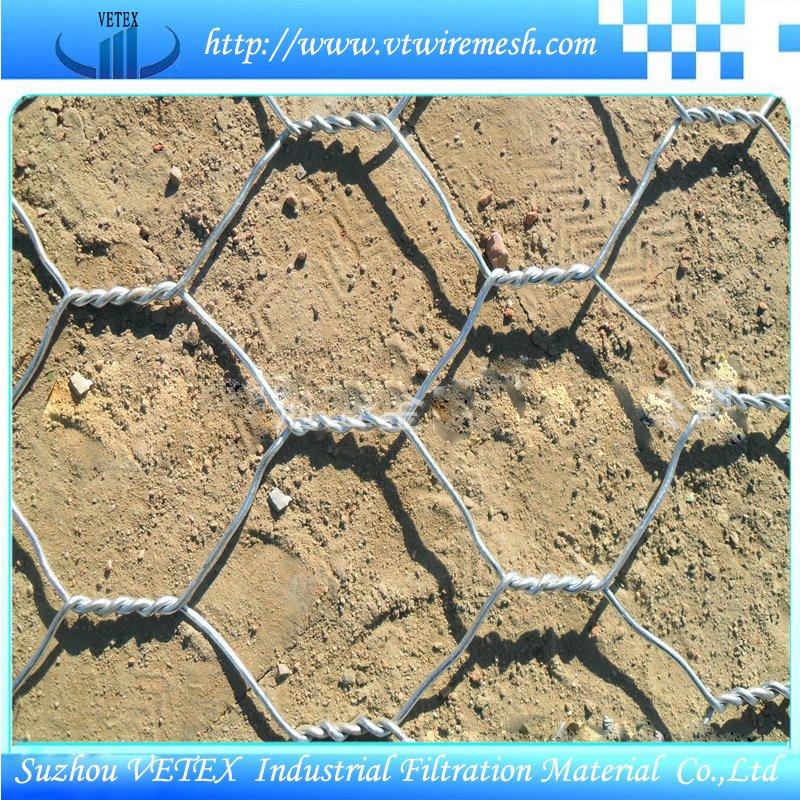 Hot DIP Galvanized Gabion Wire Mesh