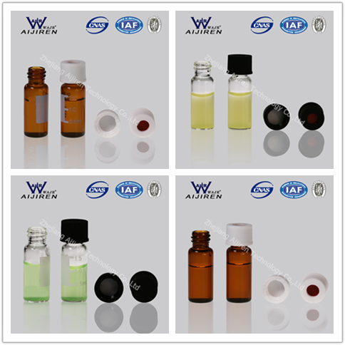 Factory Sales 8mm 2ml Amber Glass Bottle Used for HPLC System
