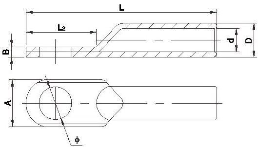 Dg Type Wiring Terminal for Galvanized Iron Wire Strands