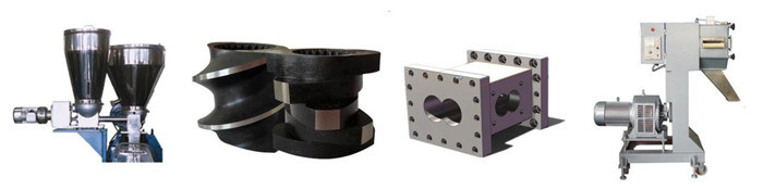 Plastic ABS/PC Granules Blending Pelletizing Machine Twin Screw Extruder