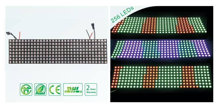Собираем светодиодный полноцветный модуль р5