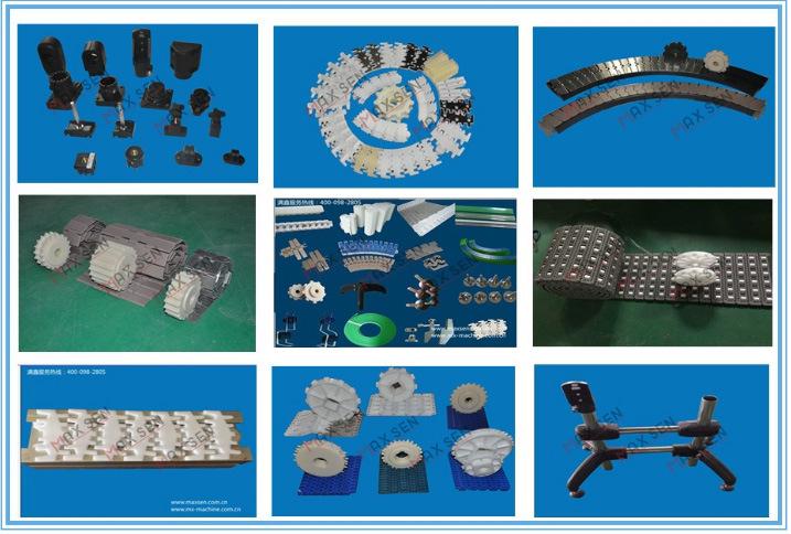 821 Plastic Chain Machined Plastic Sprockets
