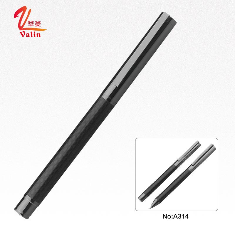 Unique Design Carbon Fiber Metal Gift Pen