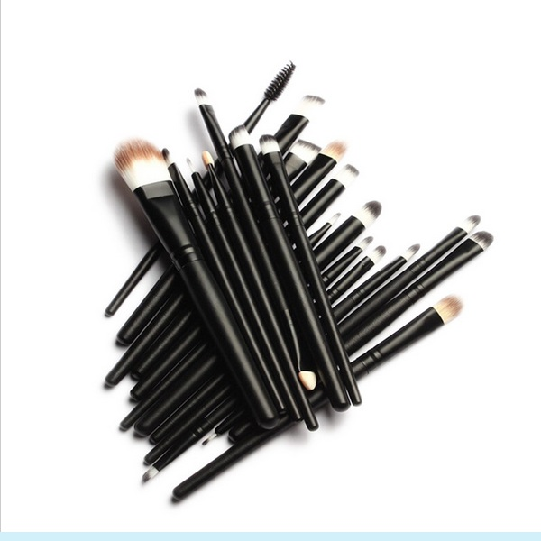 20PCS Cosmetic Brush Set with Eyeshadow Brushes, Foundation Brush