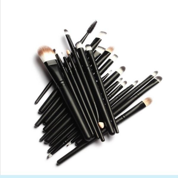 20PCS Cosmetic Brush Set with Eyeshadow Brushes, Foundation Brush