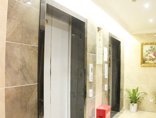 Ce Professional and Good Decorationpassenger Lift Without Machine Room