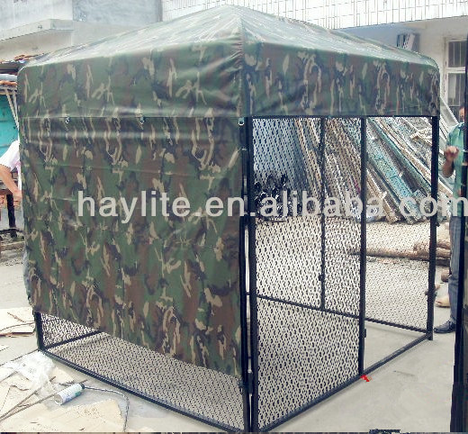Heavy Duty Hot DIP Galvanized Chain Link Steel Big Dog Kennel