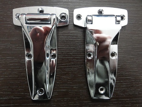 Zinc Die Casting Hinge with Chrome Plating Finish