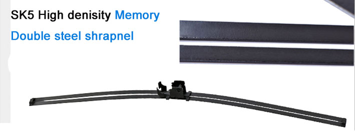 S820 Auto Parts Car Care Clear View Soft Wiper Blade