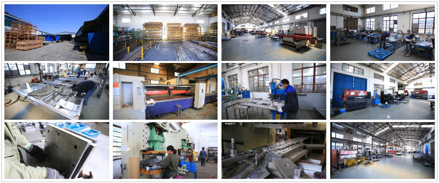 Aluminum Sheet Metal Case Parts for Industrial Use