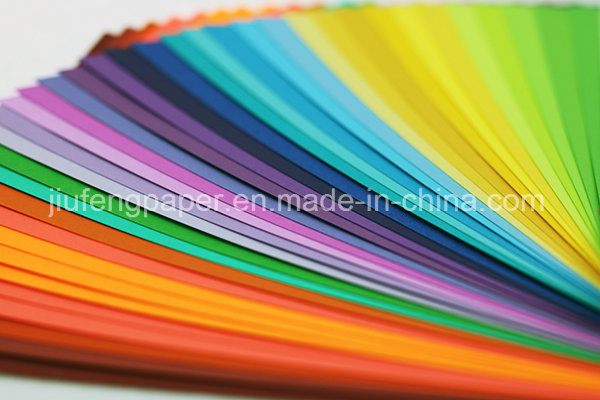 Hot Sale Uncoated Pure Wood Pulp 300g Color Paper