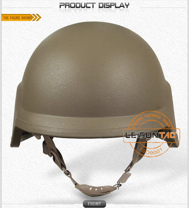 Ballistic Helmet Adopts Kevlar or Tac-Tex and Full Protection for Head with Excellent Performance