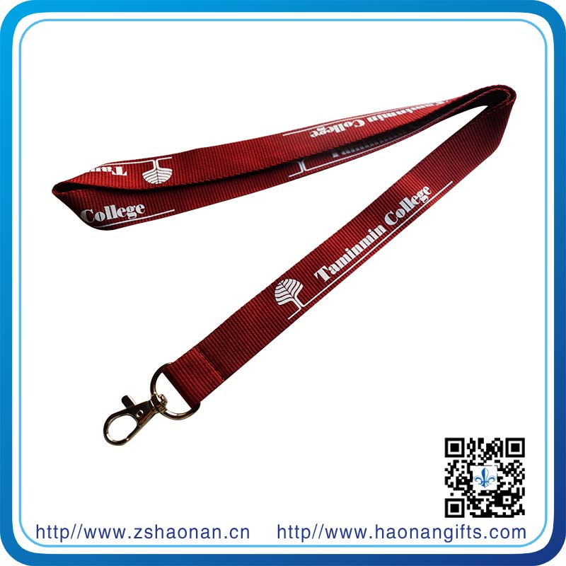 China Wholesale Custom Eco-Friendly Promotion Silk Screen Printing Lanyard