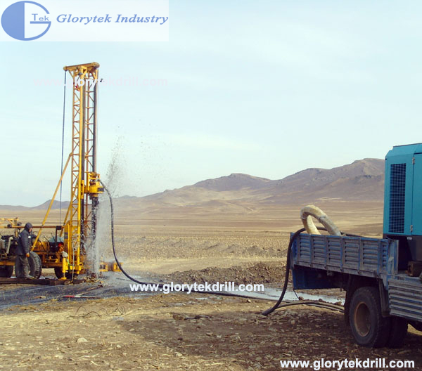 150m Trailer Mounted Borehole Core Drilling Rig (GL-II)